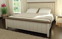 Кровать деревянная Калифорния 140х200 Elite-Grand сосна белая new