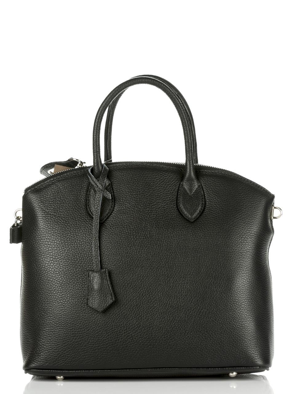 Женская кожаная сумка GLENDA Diva's Bag цвет черный