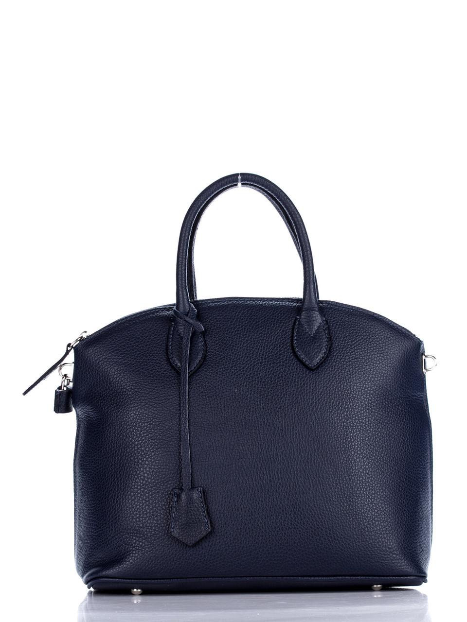 Женская кожаная сумка GLENDA Diva's Bag цвет темно-синий