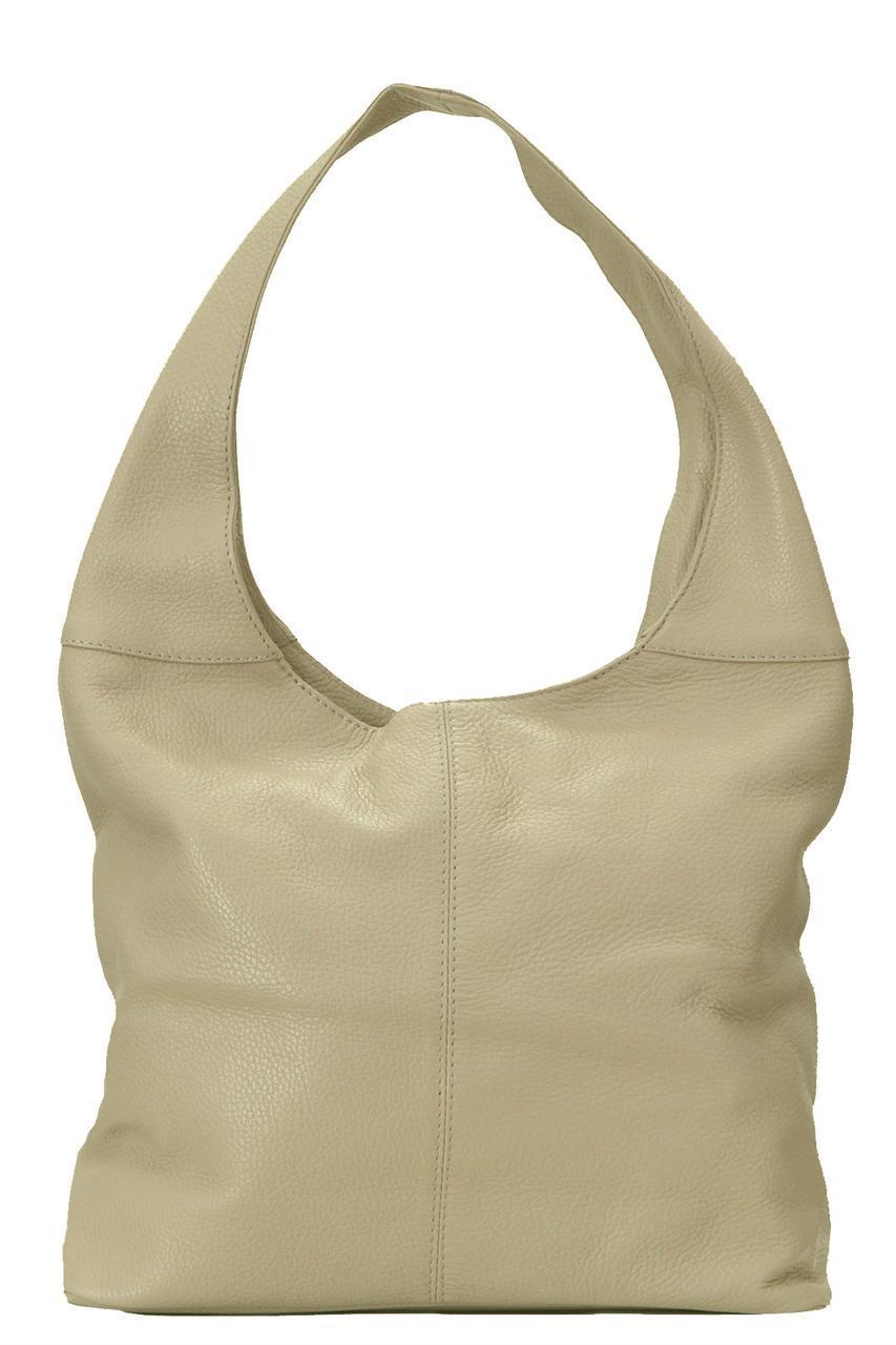 Темно-бежевая сумка-шопер женская ARDEN Diva's Bag кожаная 34 см х 30 см х 14 см