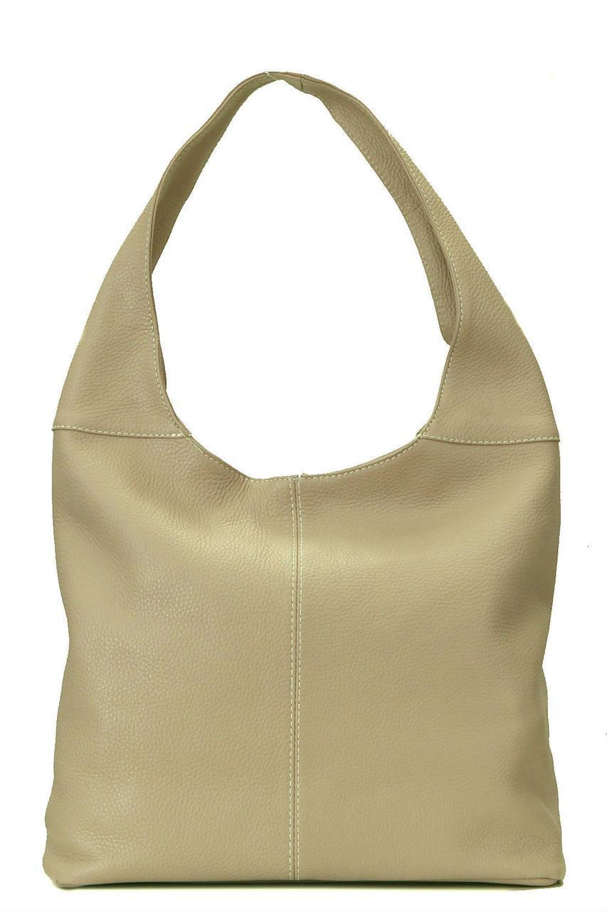 Женская кожаная сумка ARDEN Diva's Bag цвет светло-коричневый