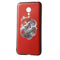 """Чехол для Meizu M5 Note, силиконовый бампер с 3D рисунком """"Инь-ян"""""""