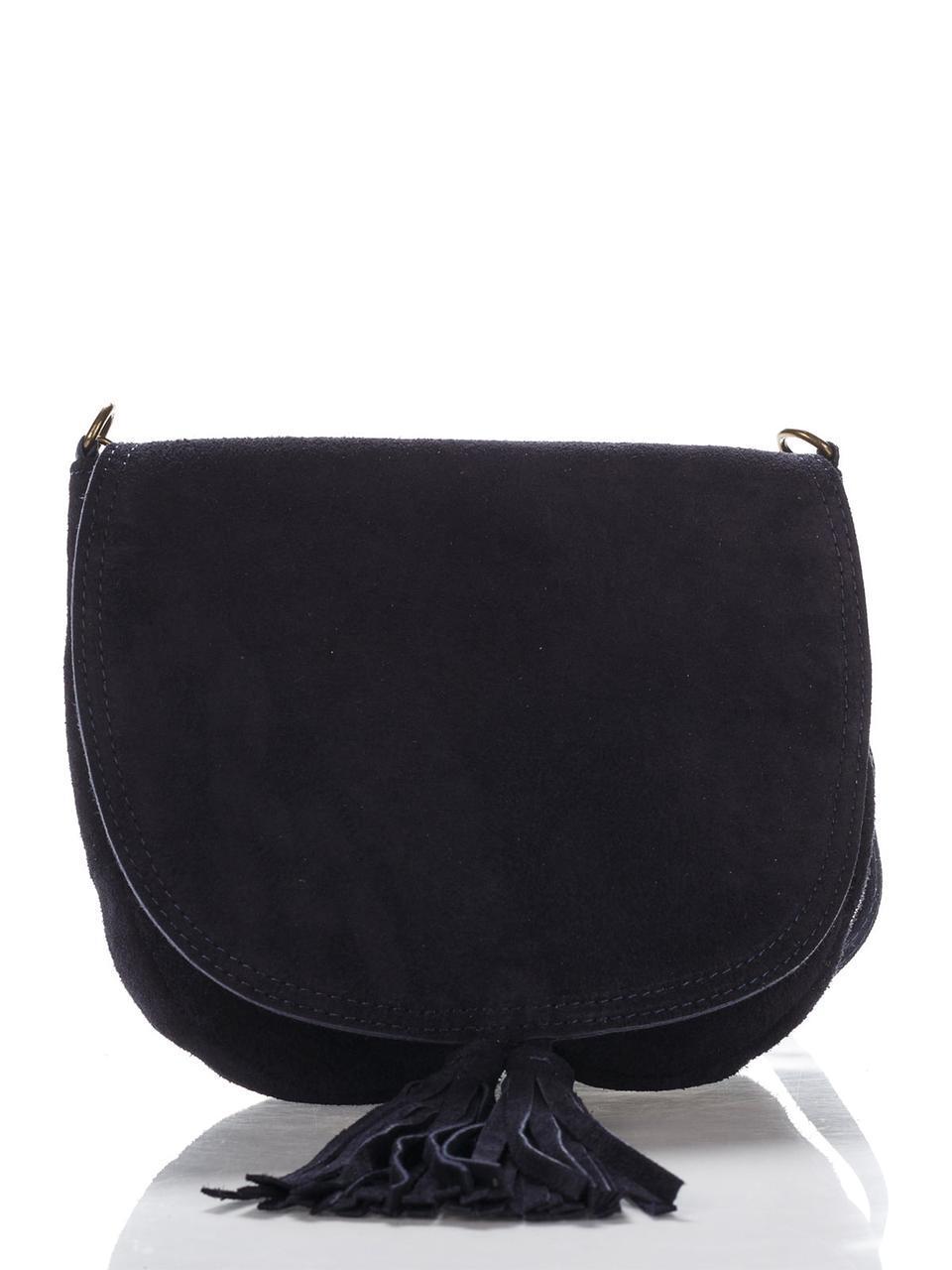 Женская кожаная сумка ANNIS Diva's Bag цвет темно-синий