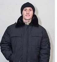 Куртка титан с капюшоном