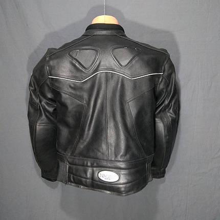 Мотокуртка HI-TECH б/у кожа, фото 2