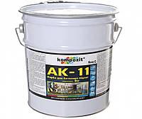 Краска акриловая KOMPOZIT АК-11 для бетонных полов транспарентная-база С 9кг