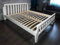 Кровать деревянная Марсель 140х200 Elite-Grand сосна белая