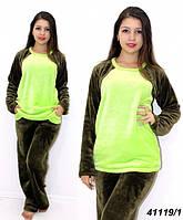 Махровая пижама подростковая женская 146,158,164 рост