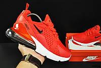Кроссовки женские (в стиле) Nike Air Max 270 арт 20634 (женские, красные, найк)