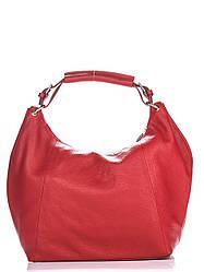 Женская кожаная сумка ALISON Diva's Bag цвет красный