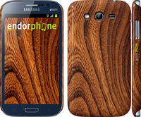 """Чехол на Samsung Galaxy Grand Duos I9082 Тёмно-коричневое дерево """"1107c-66"""""""
