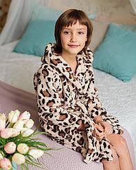 Детский махровый Набор Eirena Nadine (654-22) Халатик с сапожками на рост 122