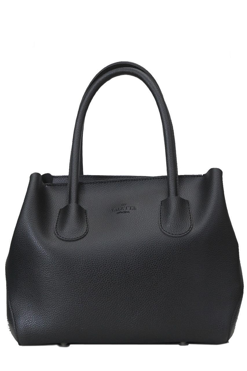 Женская сумка из искуственной кожи ШАЛФЕЙ Valetta цвет черный