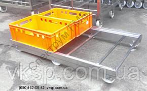 Тележка для перевозки 4шт. ящиков