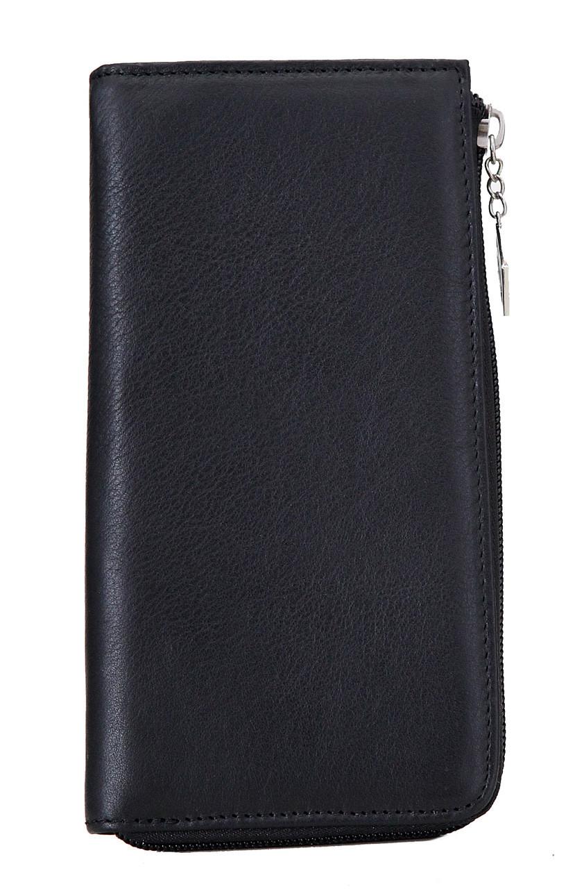 Женский кожаный кошелек 685623 Kristy.X цвет черный
