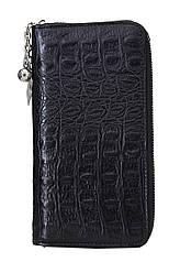 Жіночий шкіряний гаманець 175915 Крісті.X колір чорний