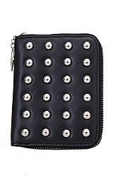 Жіночий шкіряний гаманець 685607 Крісті.X колір чорний