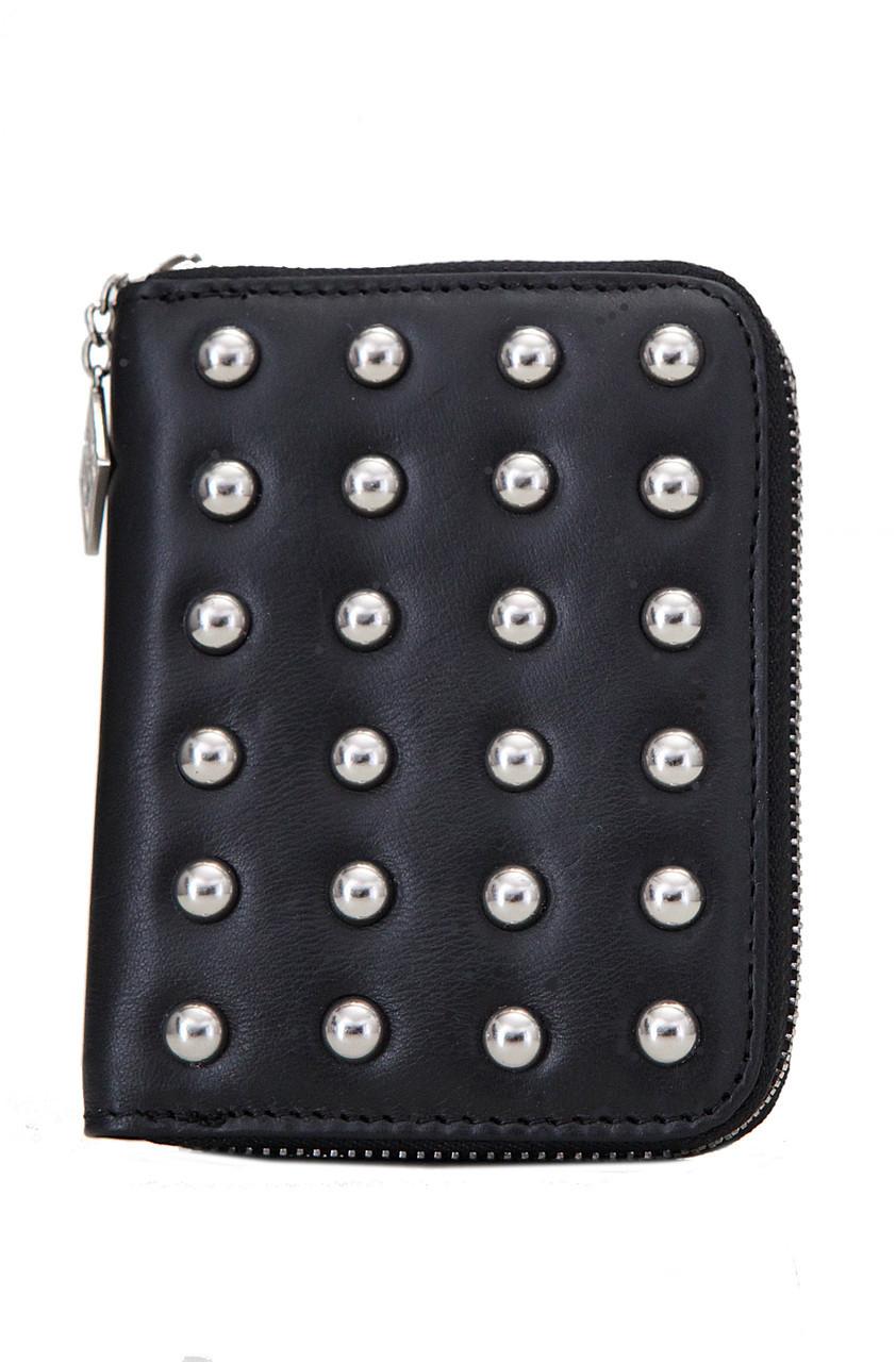 Женский кожаный кошелек 685607 Kristy.X цвет черный