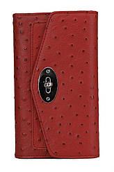 Женский кожаный кошелек 156015 Kristy.X цвет красный