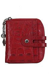 Kristy X красный женский кожаный кошелек с тиснением Divas Bag