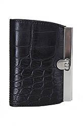 Жіночий шкіряний гаманець 125831 Крісті.X колір чорний