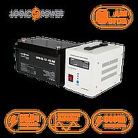 Комплект резервного питания ИБП LPY-PSW-800VA + Аккумулятор гелевый 65 АЧ