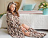 Леопардовый комплект на девочку Eirena Nadine (654-34) на рост 134 Леопард, фото 5