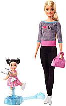 Кукла Барби Тренер по фигурному катанию Barbie Ice Skating Coach Mattel FXP38