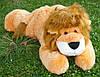 Плюшевый лев Симба лежащий, длина 110 см, фото 8