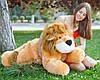 Плюшевый лев Симба лежащий, длина 110 см, фото 6