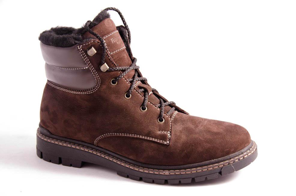 Ботинки подростковые коричневые Romani 5220616/2 р.36-41