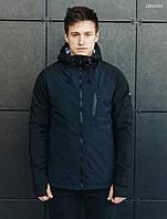 Куртка Staff soft shell Solar navy and black