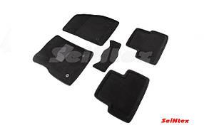 Коврики в салон 3D для Chevrolet Cruze/Opel Astra J 2009- 2009-2015 /Черные 5шт 71683