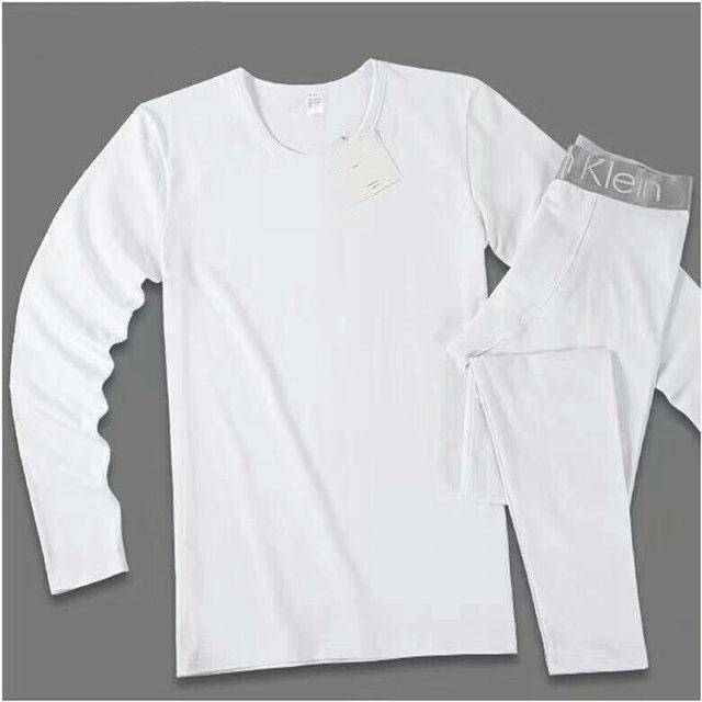 Мужское нательное брендовое термобелье  - кофта и штаны на широкой резинке хлопок реплика