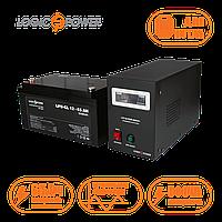 Комплект резервного живлення ИБП LPY- B - PSW-500VA+,  Аккумулятор гелевый 65 АЧ