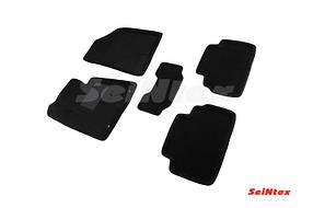 Коврики в салон 3D для Hyundai i30/Kia Ceed 2012- /Черные 5шт 83477