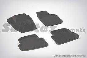 Коврики в салон 3D для Toyota Camry (V40) 2006-2011 /Серые 5шт 81970