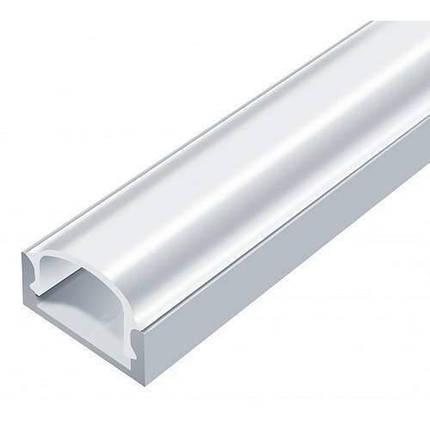 Профиль для LED ленты ЛП-7 комплект (профиль + рассеиватель), фото 2