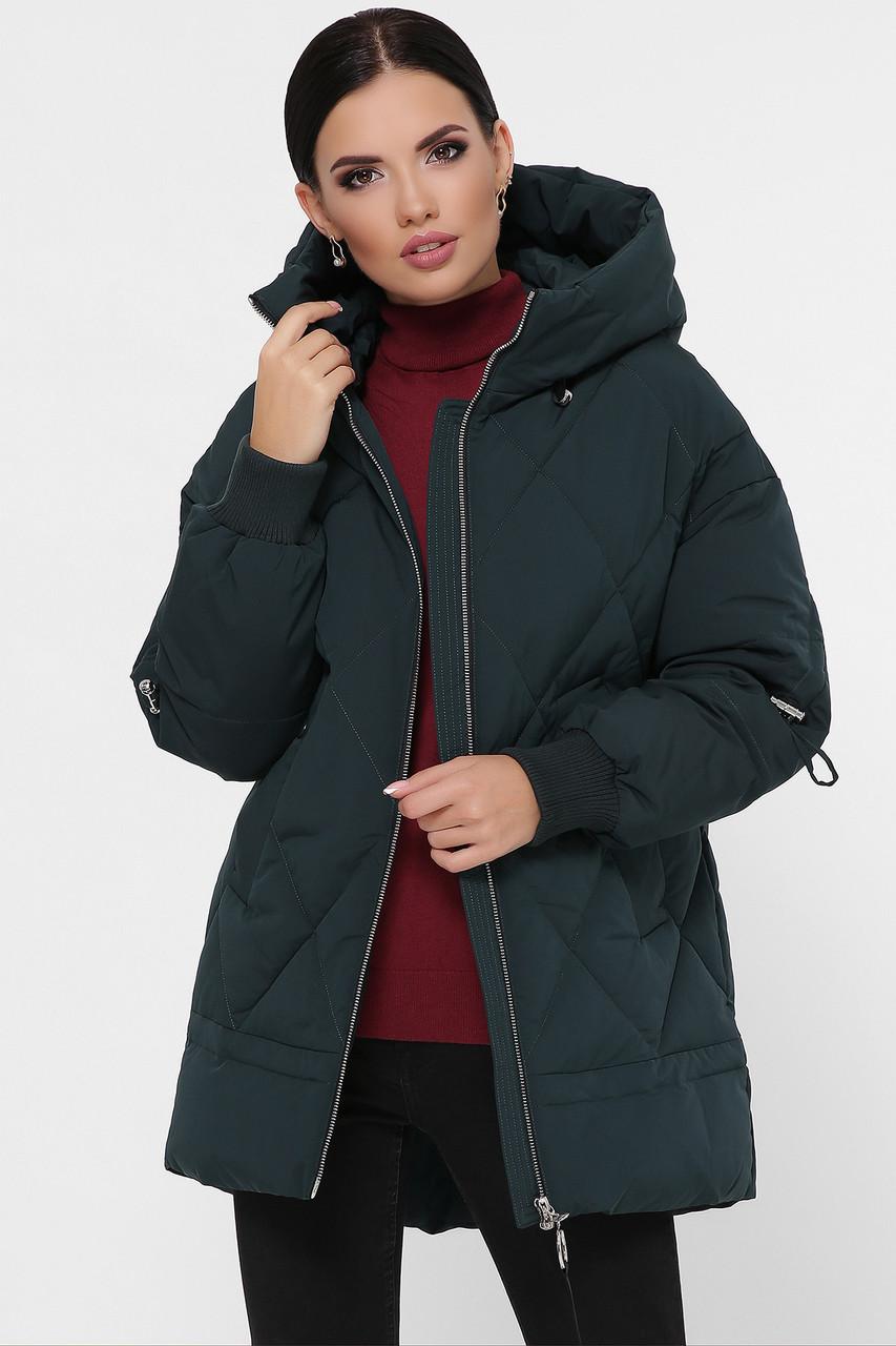 Куртка женская зимняя с капюшоном М-93