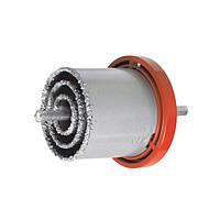 Набор корончатых сверл для плитки 4 ед., 33-73мм, вольфрамовое напыление SD-0429 Intertool