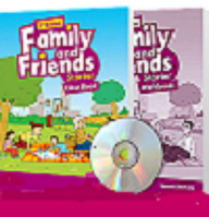 Family and Friends Second Edition Starter Class Book with MultiROM+ Workbook