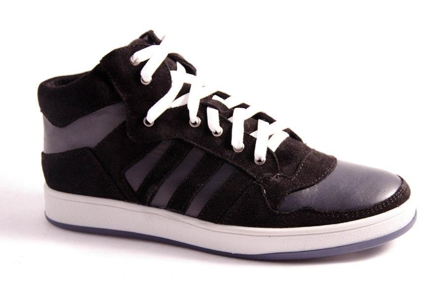 Ботинки подростковые черные Romani 7371515 р.36-41