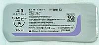 Викрил фиолетовый 4-0, М1.5,75 см, игла колющая (W9113)Ethicon/ Johnson&Johnson