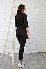 Женская медицинская куртка топ Мята - Жіноча медична куртка топ Мята - Одежда косметолога, фото 3