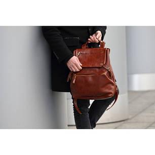 Чоловічі шкіряні рюкзаки