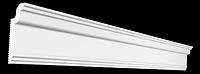 Плинтус потолочный GPX-3  80*30 mm для натяжного потолка