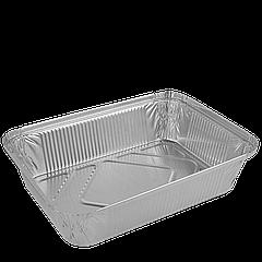 Контейнер прямоугольный из алюминиевой фольги 2000мл,255х185х53(R88L),уп/50шт