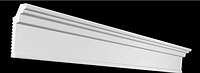Плинтус потолочный GPX-2  50*25 mm для натяжного потолка
