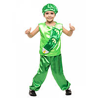 Детский карнавальный костюм Огурца зеленый костюм для мальчика