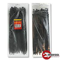 Хомут пластиковый 3,6x200мм, (100 шт/упак), черный TC-3621